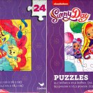 Nickelodeon Suuny Day - 24 Pieces Jigsaw Puzzle (Set of 2)