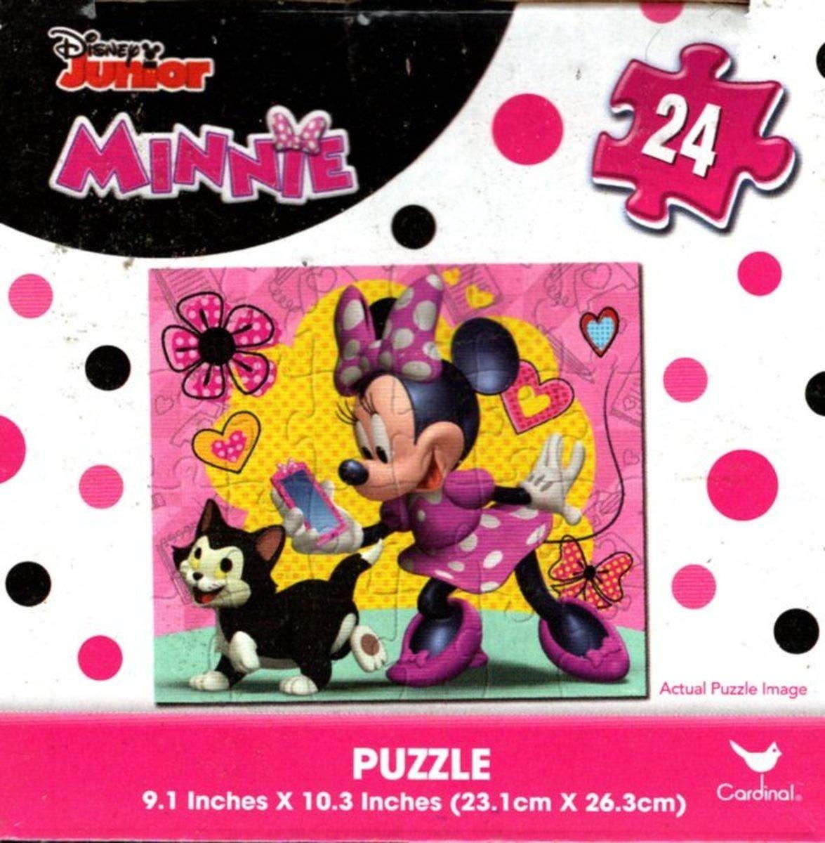 Disney Junior Minnie - 24 Pieces Jigsaw Puzzle - v3