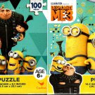 Despicable Me 3 - 100 Piece Jigsaw Puzzle (Set of 2)