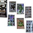 Pokemon STICKERS Pack - 400 mini-stickers: WHITE Edition