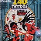 UPD Incredibles 2 Temporary Tattoos