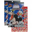 Disney Junior Mickey Mouse and Roadster Racers 4 Sheet Holographic Foil Stickers Book Pads
