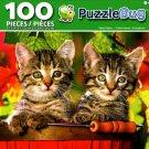 Puzzlebug Tabby Kittens 100 Piece Jigsaw Puzzle