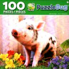 Puzzlebug Little Pink Piglet 100 Piece Jigsaw Puzzle