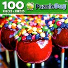 Puzzlebug Colorful Country Fair Candied Apples 100 Piece Jigsaw Puzzle