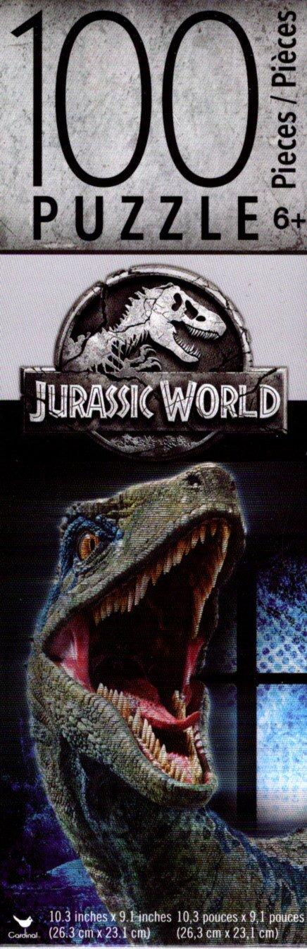 Universal Studios Jurassic World - 100 Piece Jigsaw Puzzle - v3