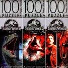 Universal Studios Jurassic World - 100 Piece Jigsaw Puzzle (Set of 3) - v1