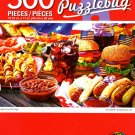 Cra-Z-Art Burgers and Hot Dogs - 500 Piece Jigsaw Puzzle