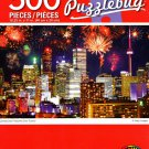 Cra-Z-Art Canada Day Fireworks Over Toronto - 500 Piece Jigsaw Puzzle