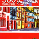 Cra-Z-Art Colorful Half Timbered Houses, Colmar, France - 500 Piece Jigsaw Puzzle