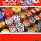 Classical Turkish Ceramics on The Market - 500 Piece Jigsaw Puzzle