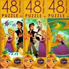Disney Rapunzel's Tangled Adventure - 48 Pieces Jigsaw Puzzle (Set of 3) - v11