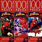Marvel Spider - Man - 100 Piece Jigsaw Puzzle ( Set of 3)