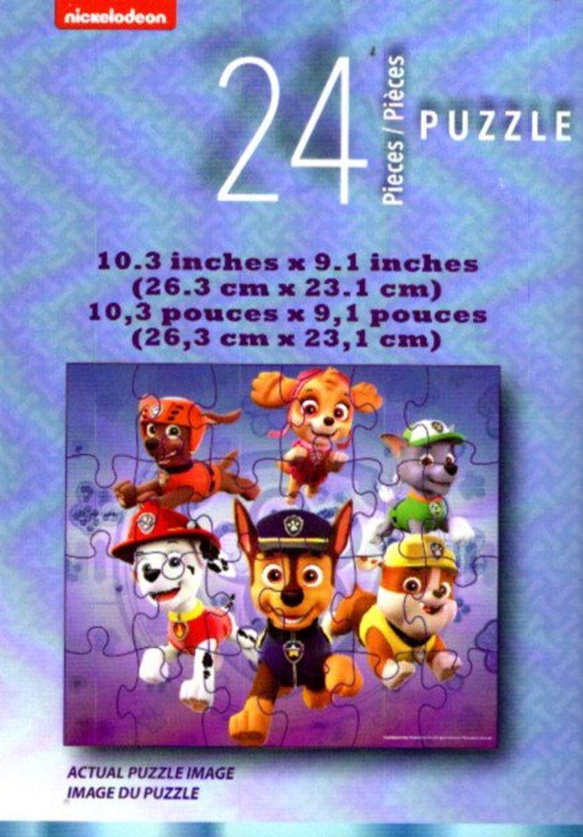 Paw Patrol Nickelodeon 24 Pieces Jigsaw Puzzle