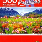 Cra-Z-Art Flowers in a Garden in Interlaken. Swiss Alps - 300 Piece Jigsaw Puzzle Puzzlebug