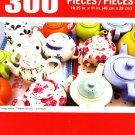 Cra-Z-Art Vintage Teapots - 300 Piece Jigsaw Puzzle Puzzlebug