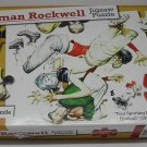 Jigsaw Puzzle - Norman Rockwells Four Sporting Boys Football - 500 pieces