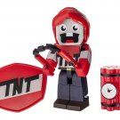 Zoofy International Tube Heroes Exploding TNT Action Figure with Accessory - 3 Inches Tall