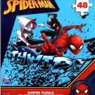 Marvel Spider-Man - 48 Pieces Shaped Jigsaw Puzzle - v1