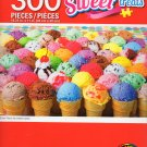 Sweet Treats - Every Flavor Ice Cream Cones - 300 Piece Jigsaw Puzzle 002