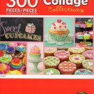 Cra-Z-Art Collage Collections - Cupcakes - 300 Piece Jigsaw Puzzle 001