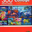 Cra-Z-Art Collage Collections - Undersea Wonders - 300 Piece Jigsaw Puzzle 001