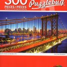 Cra-Z-Art Puzzlebug Beautiful Sunset Over Manhattan, NYC - 300 Piece Jigsaw Puzzle