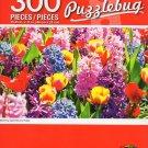 Cra-Z-Art Puzzlebug Blooming Hyacinths Tylips - 300 Piece Jigsaw Puzzle