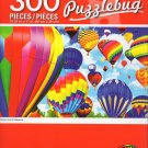Cra-Z-Art Puzzlebug Colorful Hot Air Balloons - 300 Piece Jigsaw Puzzle