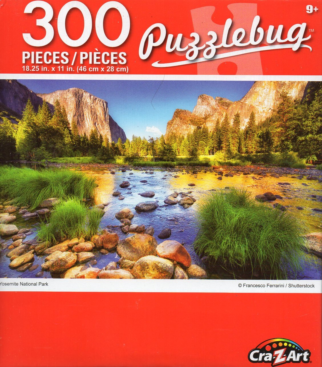Cra-Z-Art Puzzlebug Yosemite National Park - 300 Piece Jigsaw Puzzle