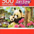Cra-Z-Art Artbox Precious Pandas by Howard Robinson - 500 Piece Jigsaw Puzzle