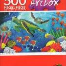 Cra-Z-Art Artbox Sea Turtles - Roland Richarson - 500 Piece Jigsaw Puzzle