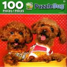 LPF Poodle Duo - PuzzleBug - 100 Piece Jigsaw Puzzle