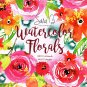 Vista 2019 Sara Berrenson Watercolor Floral - 16 Month Wall Calendar + 120 Reminder Stickers