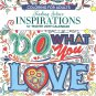 Inspirations - 16 Month 2019 Adult Coloring Wall Calendar - with 120 Reminder Stickers