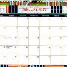 2019 Spiral Bound Calendar (Essentials 2019 Calendar Collection) - 12 Months Desktop - (Edition #4)