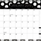 2019 Spiral Bound Calendar (Essentials 2019 Calendar Collection) - 12 Months Desktop - (Edition #7)