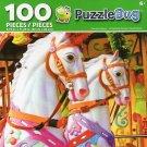 Cra-Z-Art Carousel Horse - Puzzlebug - 100 Piece Jigsaw Puzzle