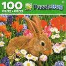 Cra-Z-Art Bunny Rabbit - Puzzlebug - 100 Piece Jigsaw Puzzle