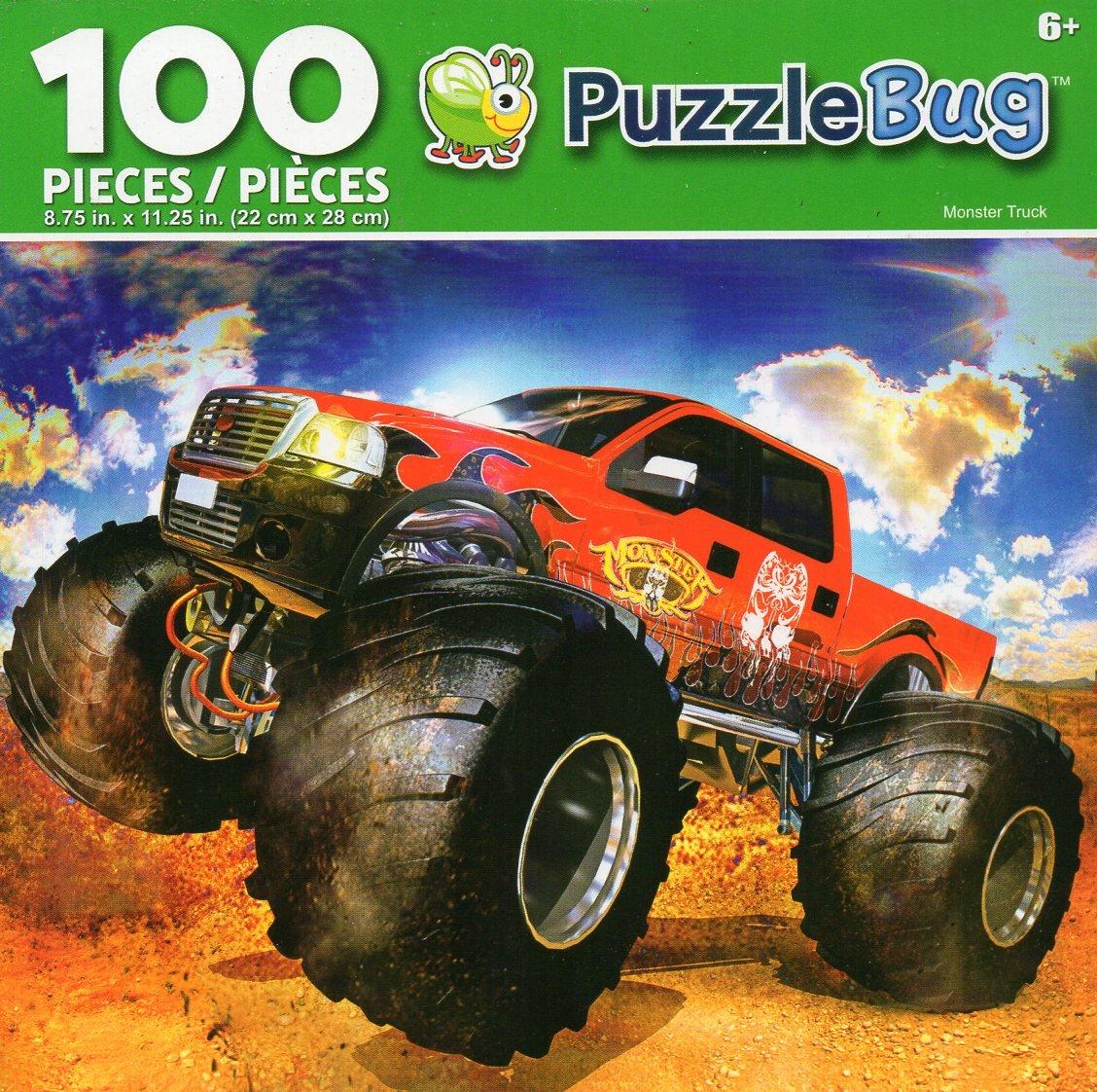 Cra-Z-Art Monster Truck - Puzzlebug - 100 Piece Jigsaw Puzzle