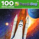 Cra-Z-Art Space Shuttle Rocket Launch - Puzzlebug - 100 Piece Jigsaw Puzzle