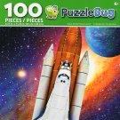 Cra-Z-Art Space Shuttle Rocket Launch - Puzzlebug - 100 Piece Jigsaw Puzzle
