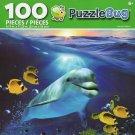 Cra-Z-Art Happy Dolphin - Puzzlebug - 100 Piece Jigsaw Puzzle