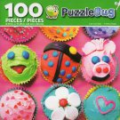 Cra-Z-Art Cute Cupcakes - Puzzlebug - 100 Piece Jigsaw Puzzle