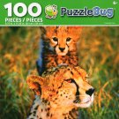 Cra-Z-Art Cheetah Cub - Puzzlebug - 100 Piece Jigsaw Puzzle