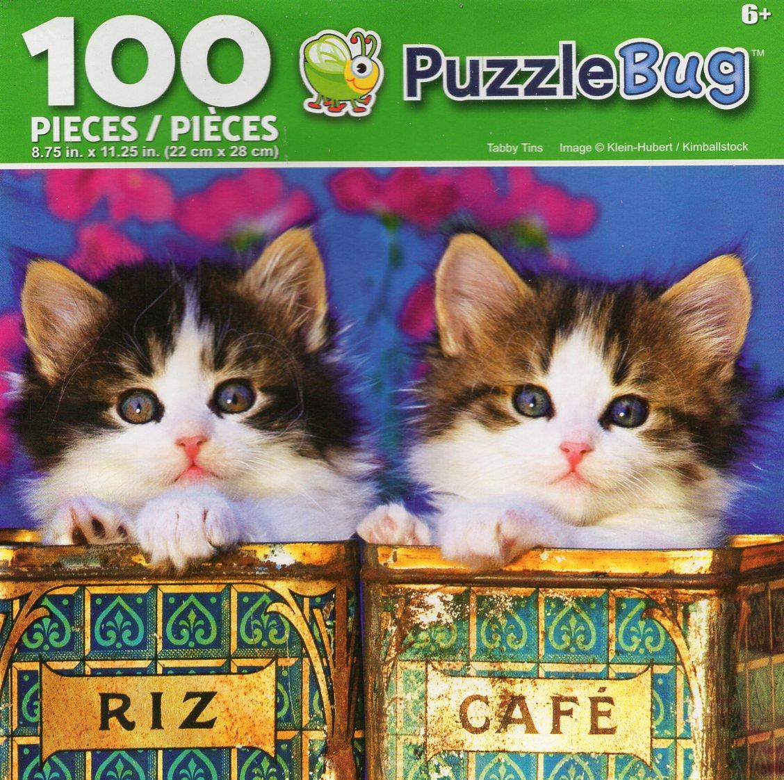 Cra-Z-Art Tabby Tins - Puzzlebug - 100 Piece Jigsaw Puzzle