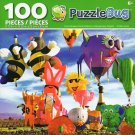 Cra-Z-Art Funky Shapes Hot Air Balloons at Albuquerque Festival - 100 Piece Jigsaw Puzzle