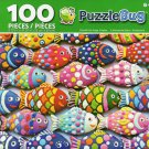Cra-Z-Art Colorful Fish Sugar Cookies - Puzzlebug - 100 Piece Jigsaw Puzzle