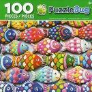 Cra-Z-Art Colorful Fish Sugar Cookies - Puzzlebug - 100 Piece Jigsaw Puzzle