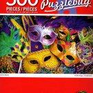 Cra-Z-Art Colorful Masks - 500 Piece Jigsaw Puzzle - p005